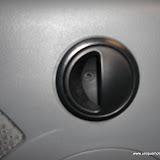 Remove trim around door handle