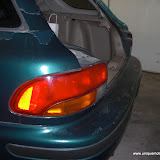 Here you can see some of the clear coat damage. Thats the biggest issue with this car in my opinion.