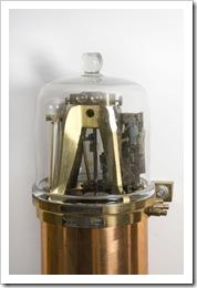 Detalhe do mecanisco do pêndulo livre
