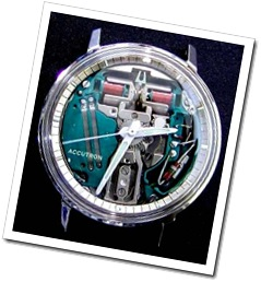 Bulova Accutron Spaceview chapter ring