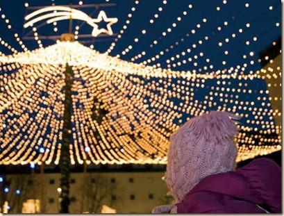 Mercatino di Natale di Brunico - Via Bastioni e Piazza Municipio