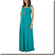 Target Nursing maxi dress Teal