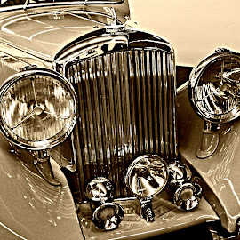 1937 Bentley Gurney Nutting Sedanca Coupe by Deborah Russenberger - Transportation Automobiles ( car,  )