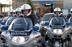 feldjaeger-Motorrad