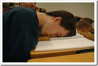 Schlafender-Student