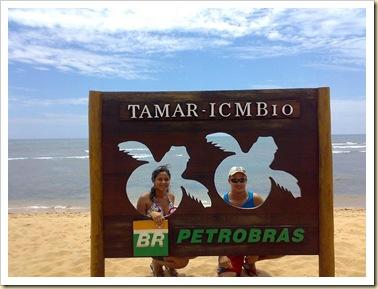 Projeto Tamar em Praia do Forte -BA