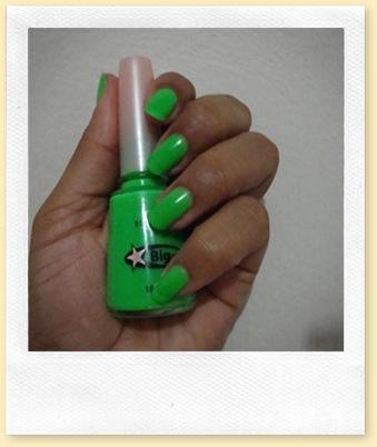 Esmalte verde -Big