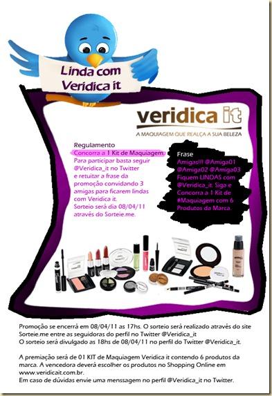 Promoção Fique Linda com Veridica it
