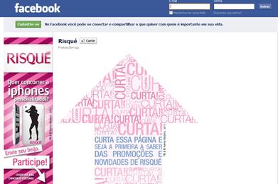 Risqué facebook
