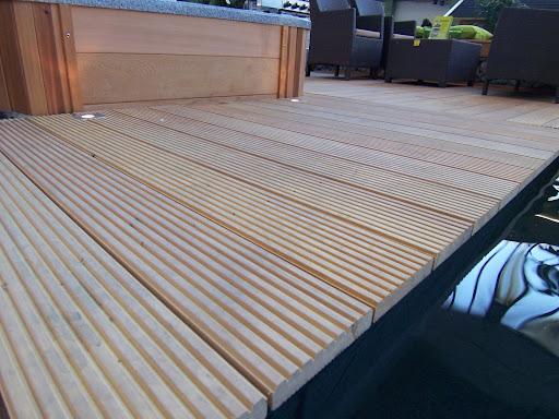 garapa 23 x 140 mm terrassendiele terrasse hartholz ebay. Black Bedroom Furniture Sets. Home Design Ideas