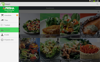 Screenshot of Foodie.fi