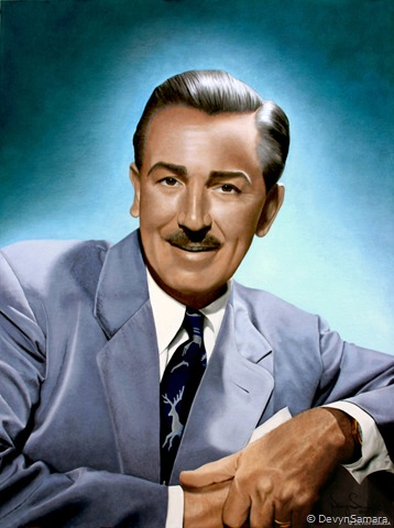 Walt Disney, 1949 - By Devyn Samara, 2011