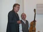 Helga Groh, Galeristin, Hans Wax, Gitarre
