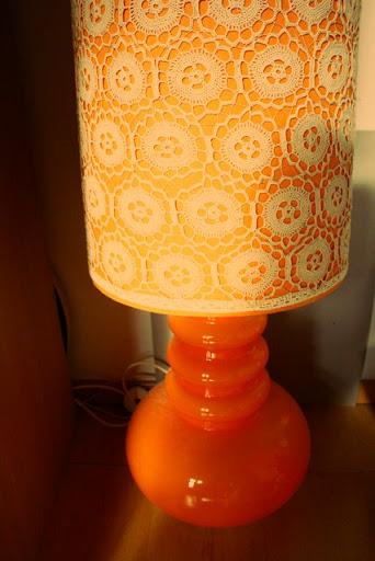 60's lamp, van de tante van mijn papa geweest