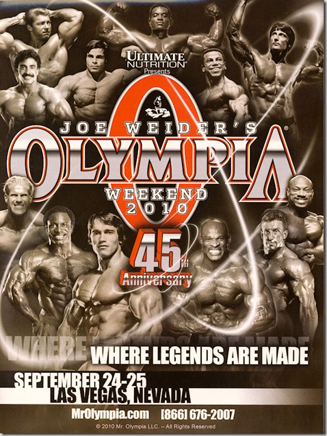 Mr Olympia LIVE WEBCAST