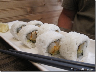 spicy chopped chopped scallop roll