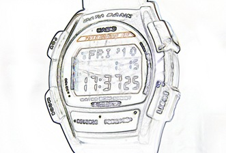 My Casio DataBank Watch