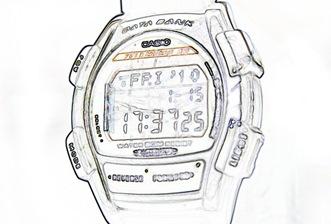 My Casio DataBank Watch