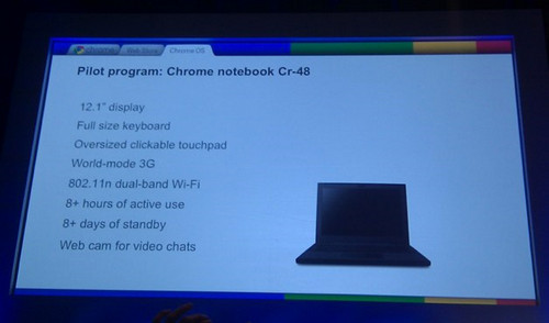 Chrome OS, Cr-48