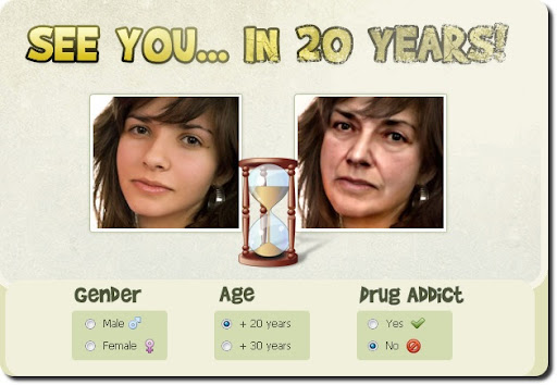 Scopri come diventerai tra 30 anni con In20years