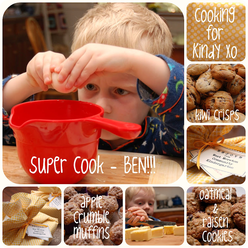 Picnik collage cooking for kindy