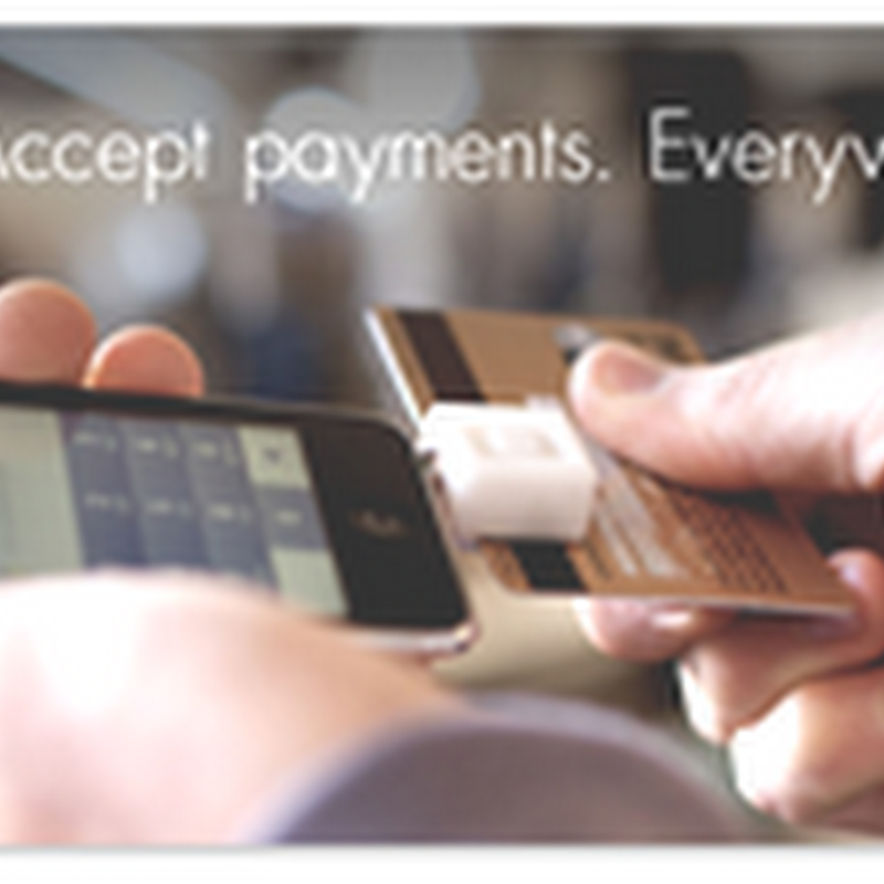 Mobile Payments With Square Up –IPhone and Portable Card Reader Reads Credit Cards