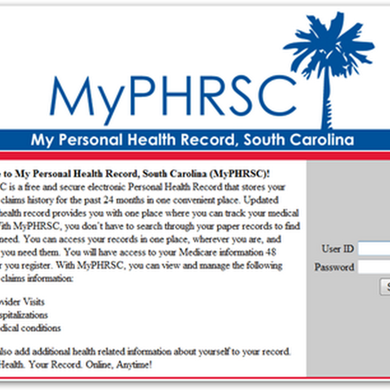 CMS Extends Medicare-Tricare PHR Pilot Test MyPHRSC – Personal Health Records