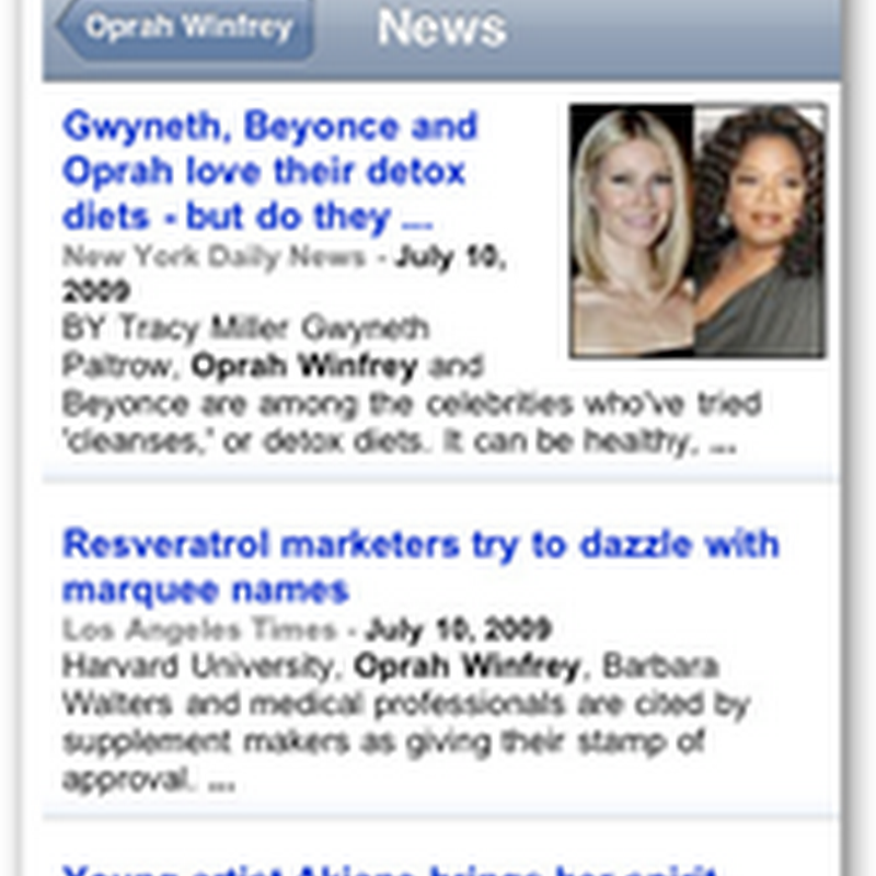Remember the Billionaire's Summit in May 2009 – Oprah Did a Lot of Listening It Was Reported and She's on Fire Today With Technology