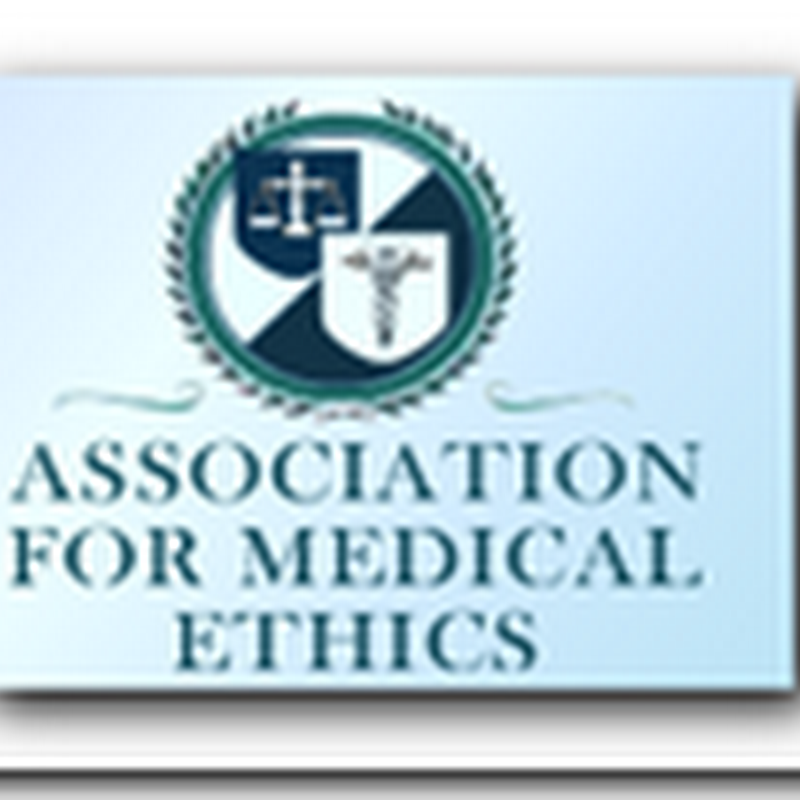 Charles Rosen of UCI – Association for Medical Ethics leader, perhaps our next Surgeon General?