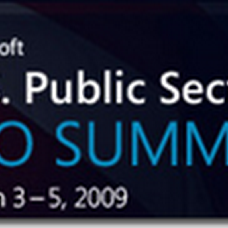 Microsoft U.S. Public Sector CIO Summit – Opinion and Review