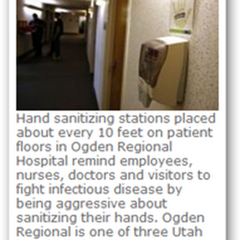 Hand Washing Secret Shoppers Patrol the Hospital To Help Prevent Never Never Events