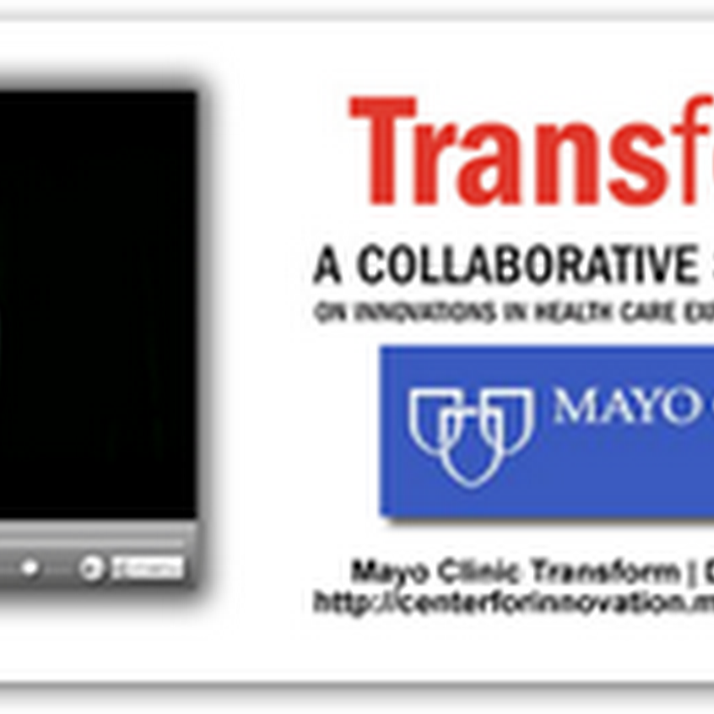 Personal Medicine International – Presented At The Transform Symposium - Mayo Clinic