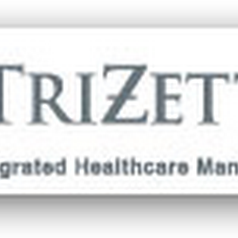 TriZetto Announces New Feature for Personal Health Records – Auto Populated for the Consumer But Payer Access for Eligibility Questions from Providers