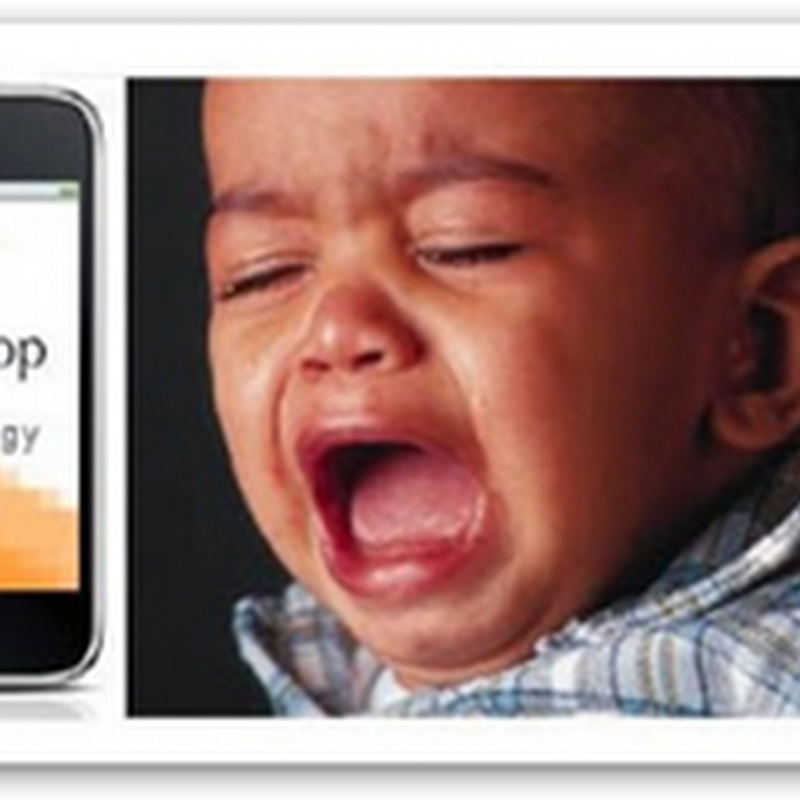 If You Don't Know Why the Baby is Crying… iPhone Application Says It Can Help You