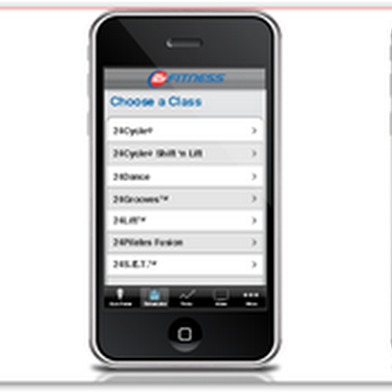 24 Hour Fitness has an IPhone Application – Biometrics on the Run