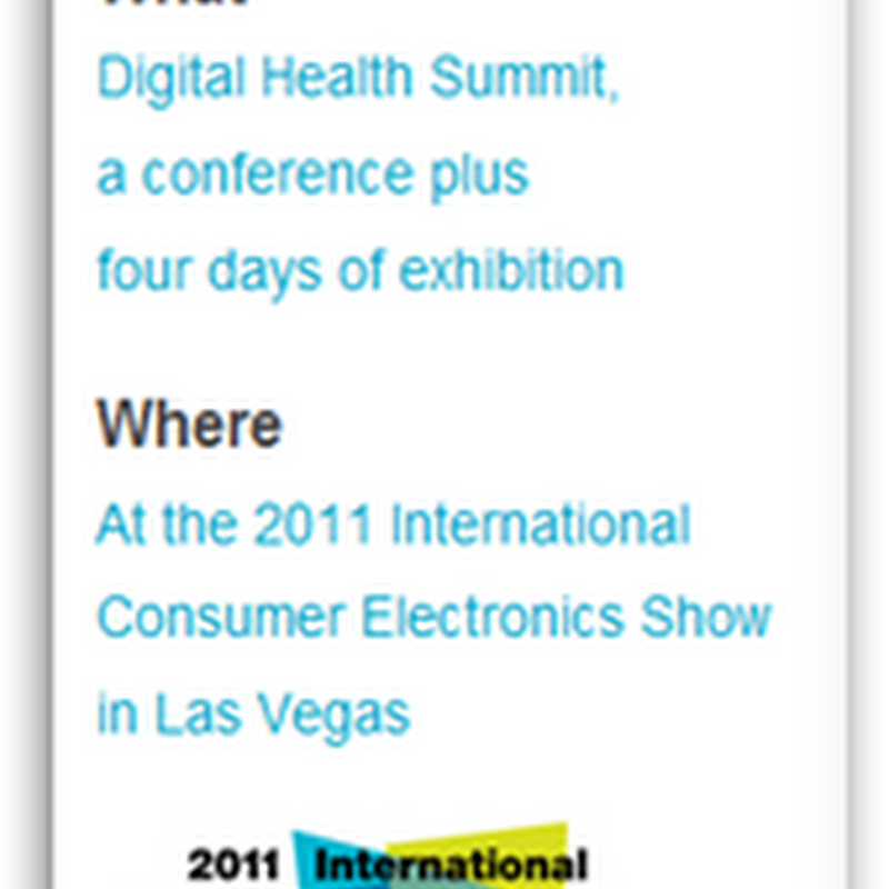 Going to CES This Year?  Healthcare Represented With Mobile Devices and Insurance Companies-United Healthcare A Sponsor This Year