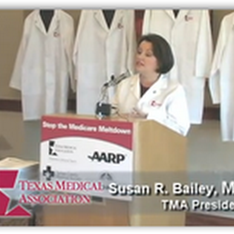 Texas Medical Association and AARP Unite To Stop the Medicare Meltdown in Congress