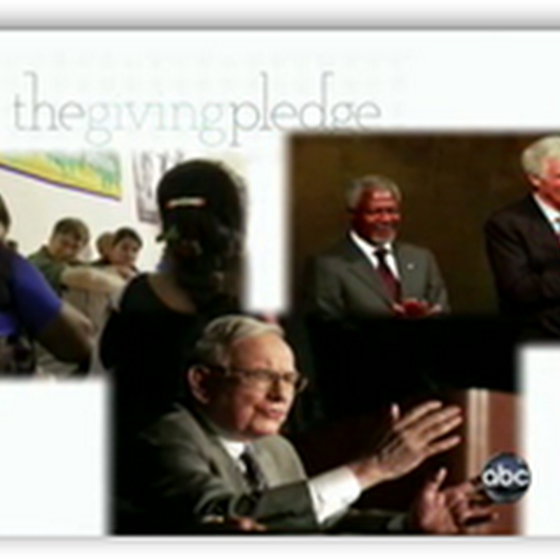 "Billionaires Buffett, Gates And Turner Talk About ""The Giving Pledge And More…"