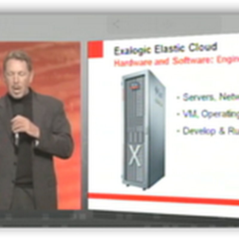 Oracle CEO Ellison: It's in the Box, The Cloud That Is, These Are Boxes…