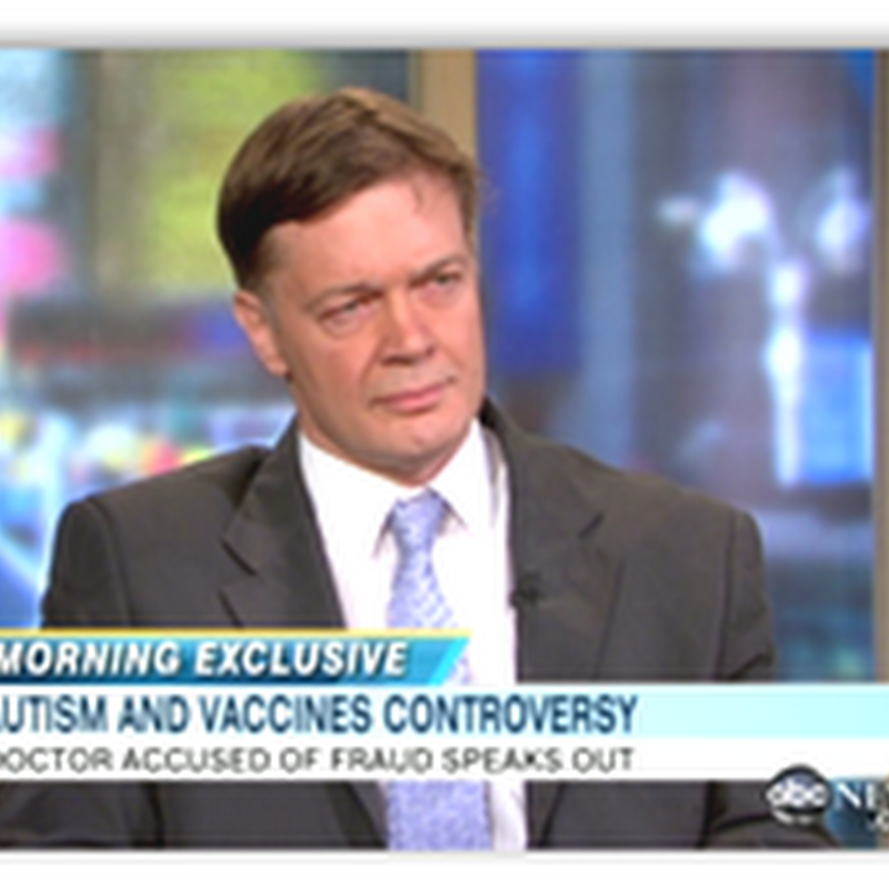 Dr. Andrew Wakefield Defends His Research and Book on Autism and Vaccines (Video Interview)