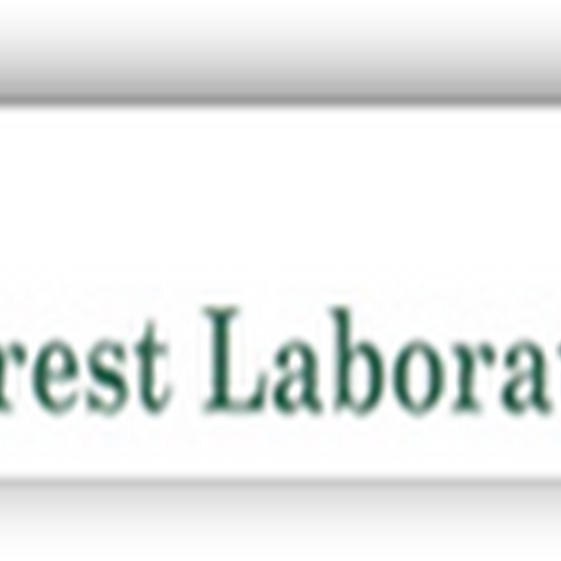 HHS Notifies CEO of Forest Labs They Intend to Exclude Him From Doing Business With the US Federal Government