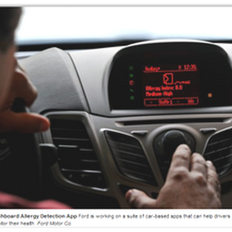 Ford Adding Biometric Health Monitoring to Cars–And How Long Before the Cars Are Driving Themselves (Video)