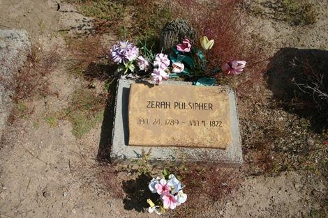 Zerah Pulsipher's Grave