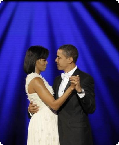 Obama first dance
