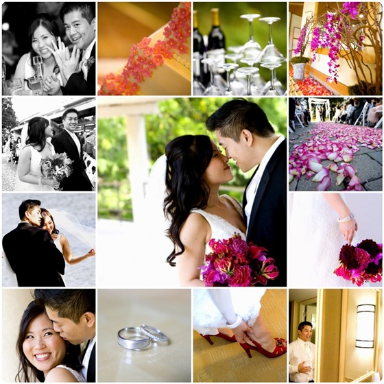 BC Wedding collage