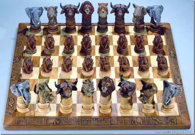 Large chess board 17.30'' x 17.30''