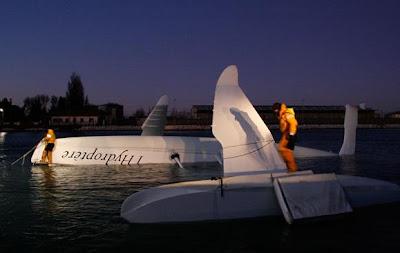 hydroptere crash