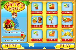 Screenshot of Jane's Hotel (Freemium)