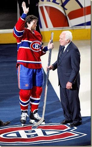 Senators Canadiens Hockey