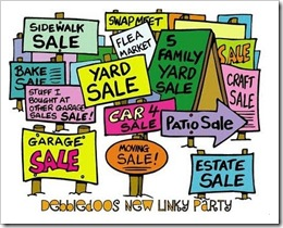 garage sale party